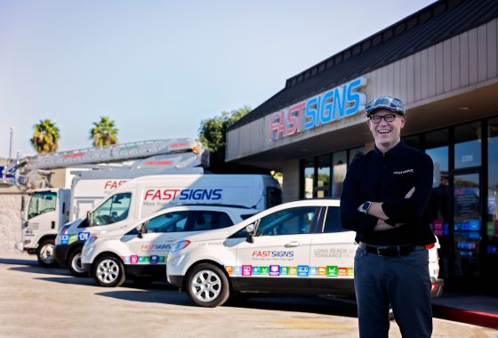 Stan Gray Reflects on Being a Veteran and FASTSIGNS Franchise Owner