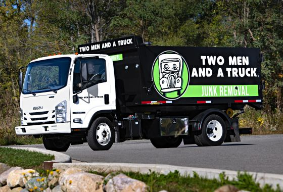 Trash into Treasure:  TWO MEN AND A TRUCK Launches Junk Removal Business