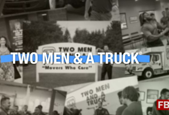 Why Two Men And A Truck is a Top Franchise Brand