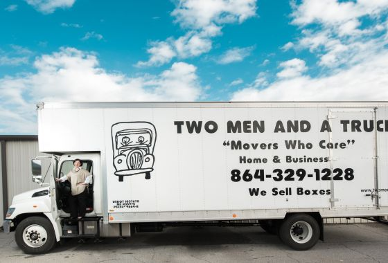 Making Moves in the New Year:  Entrepreneurs Partner Up with TWO MEN AND A TRUCK