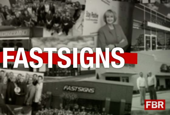 Why FASTSIGNS® is a Top Franchise