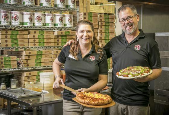 Terri & Dave Thomas, Franchise Rock Stars, Pizza Factory