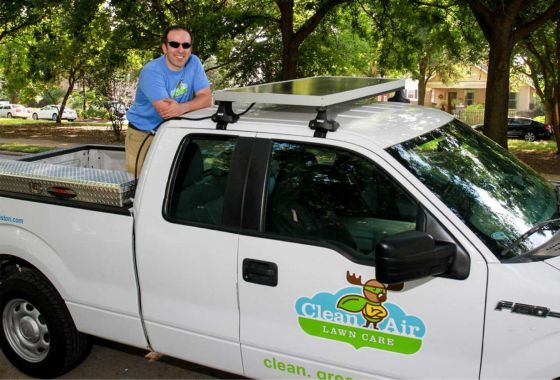 Joseph Trevino of Clean Air Lawn Care Embraces His New Mission