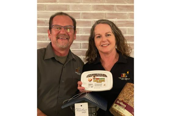 Art and Lisa Martin Grateful for Wild Birds Unlimited Opportunity