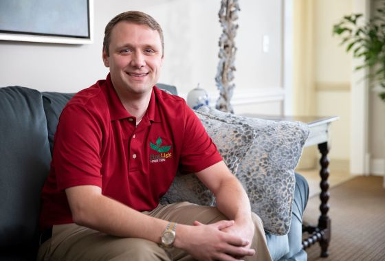 Eric Friedrich finds military-friendly franchise with FirstLight Home Care