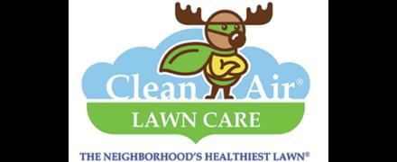 Clean Air Lawn CareLogo