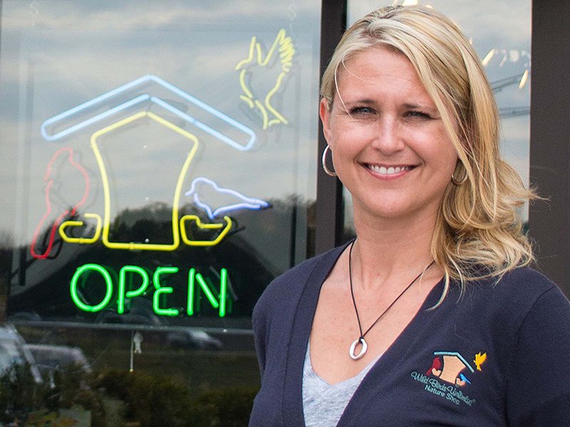 Wild Birds Unlimited franchise owner Charity Rausch