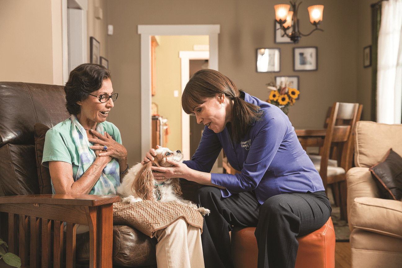 Homewatch CareGivers client
