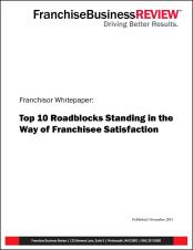 10 Roadblocks Standing in the Way of Franchisee Satisfaction