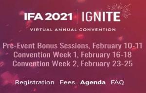 2021 IFA Leadership Conference Logo