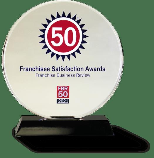 2021 Franchise Satisfaction Top 50 Award