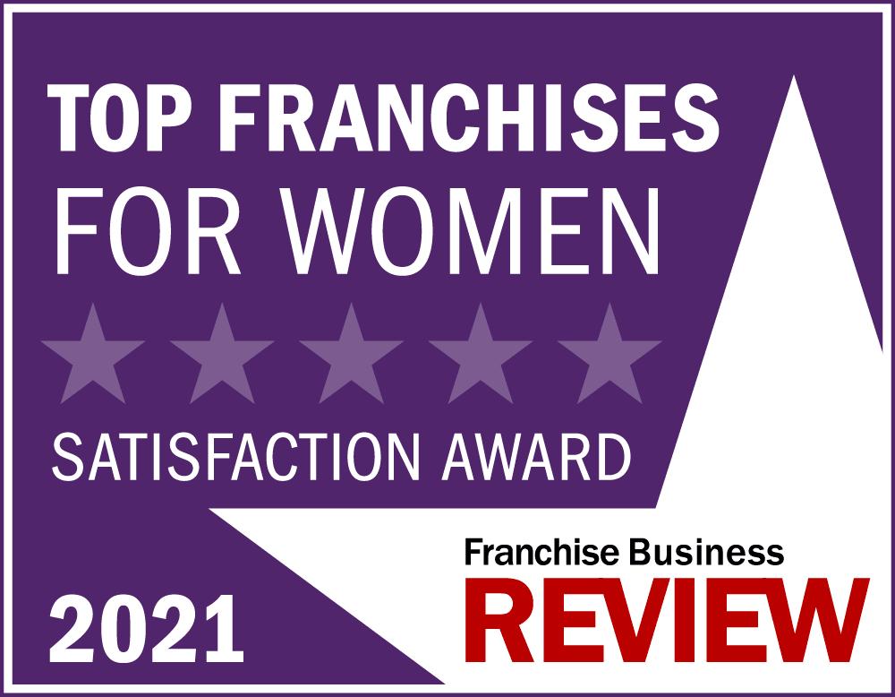 Top Franchises for Women Award 2021- purple