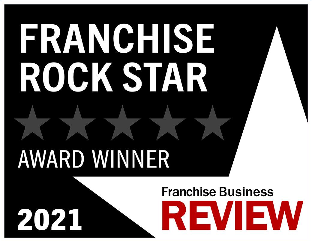Rock Star Franchise Award Graphic 2021 - black