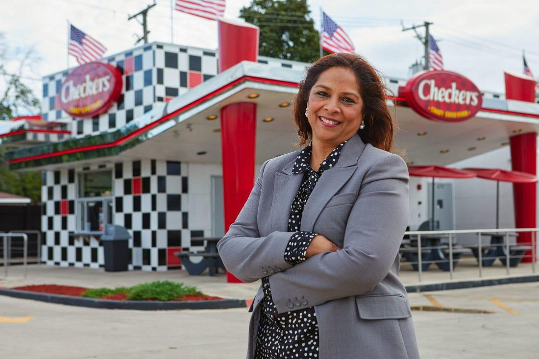 Checkers & Rally's franchise owner Farida Delawalla