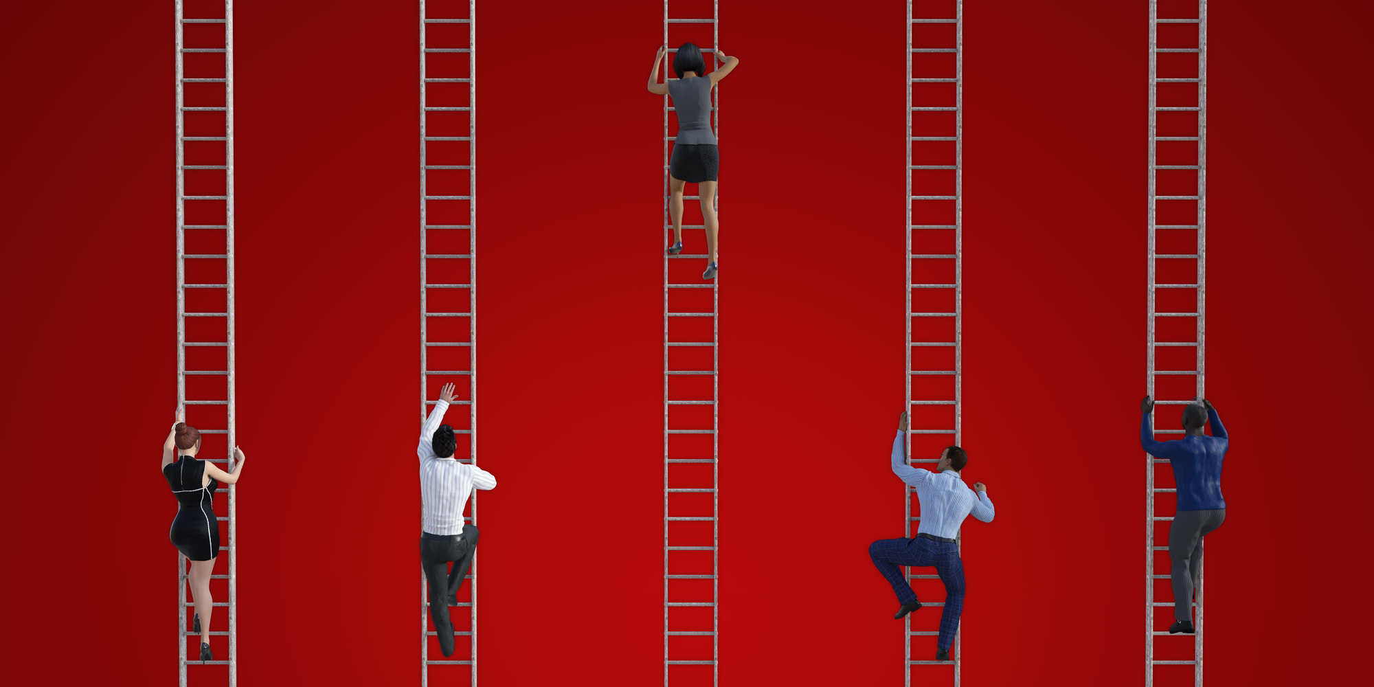 Climbing ladders overcoming franchise growth challenges