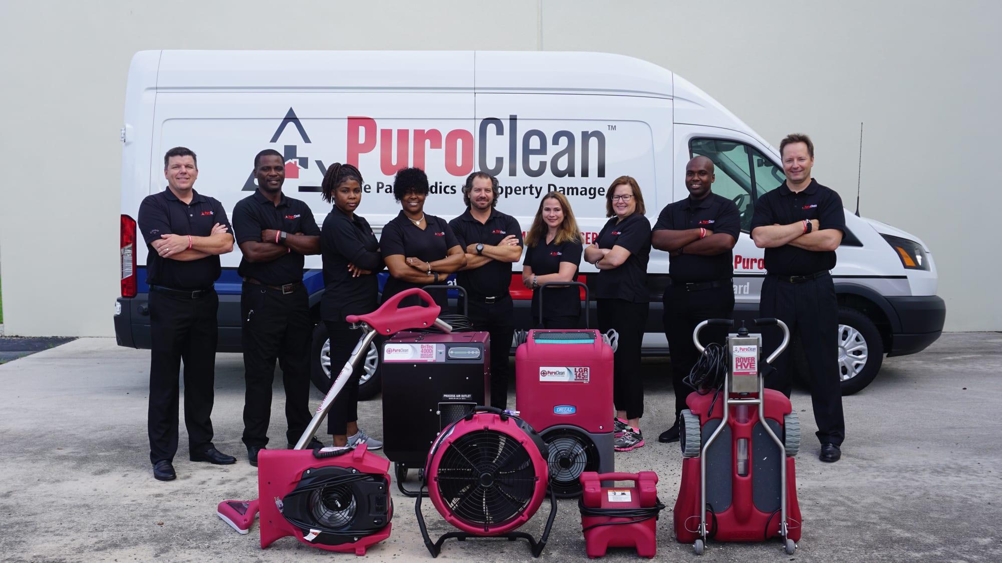 Puroclean team