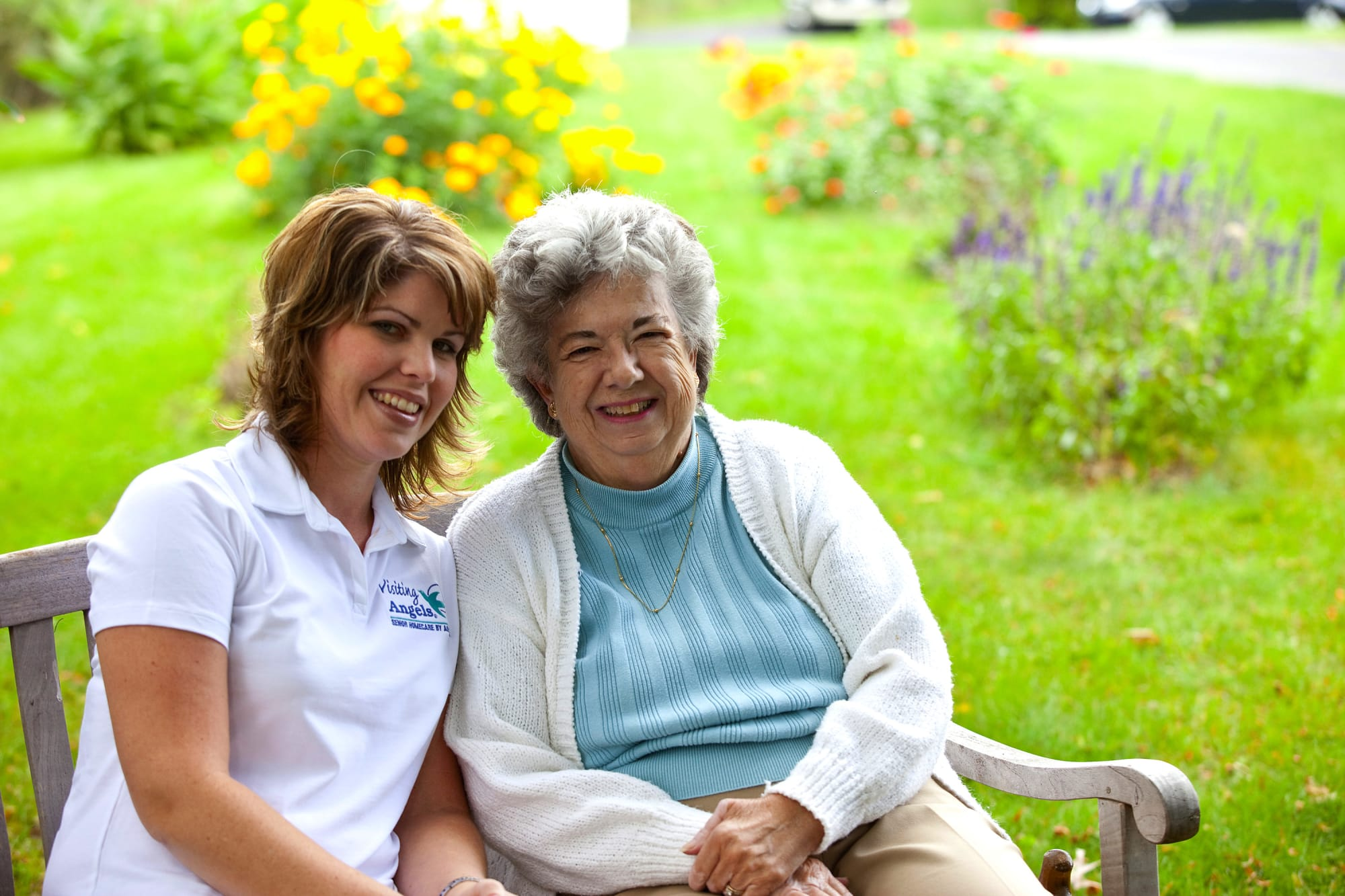 Visiting Angels Franchisee and Senior