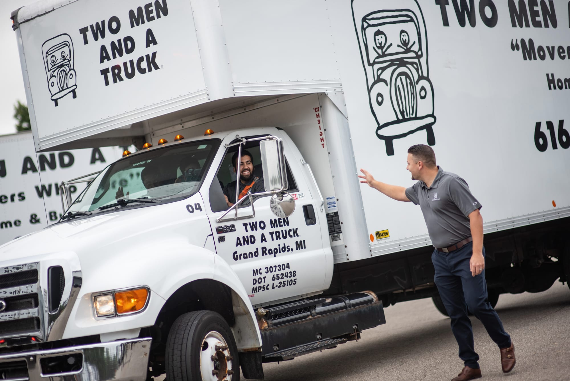 Two Men and a Truck Franchise Truck