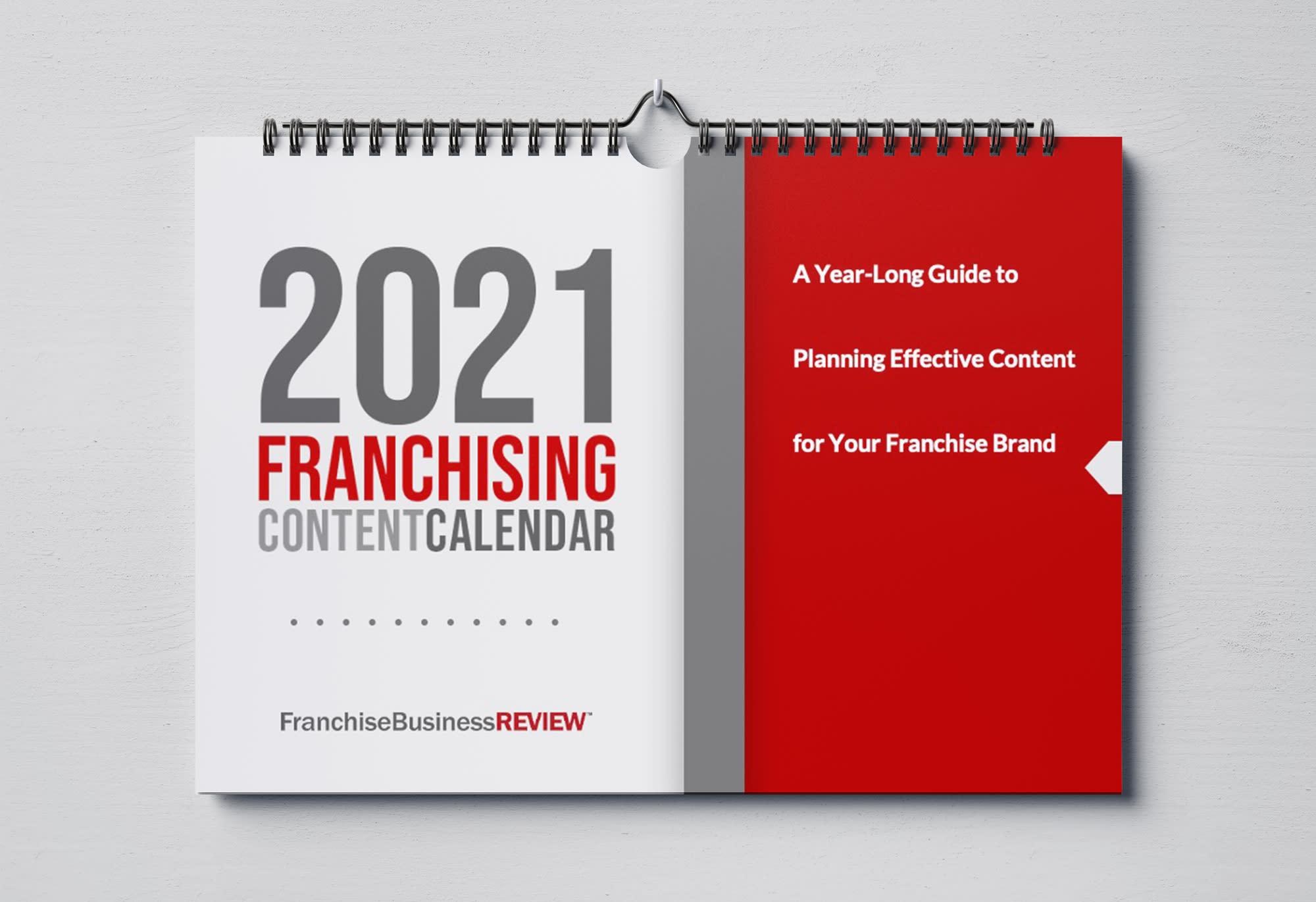 2021 Editorial Calendar Horizontal Wall Calendar