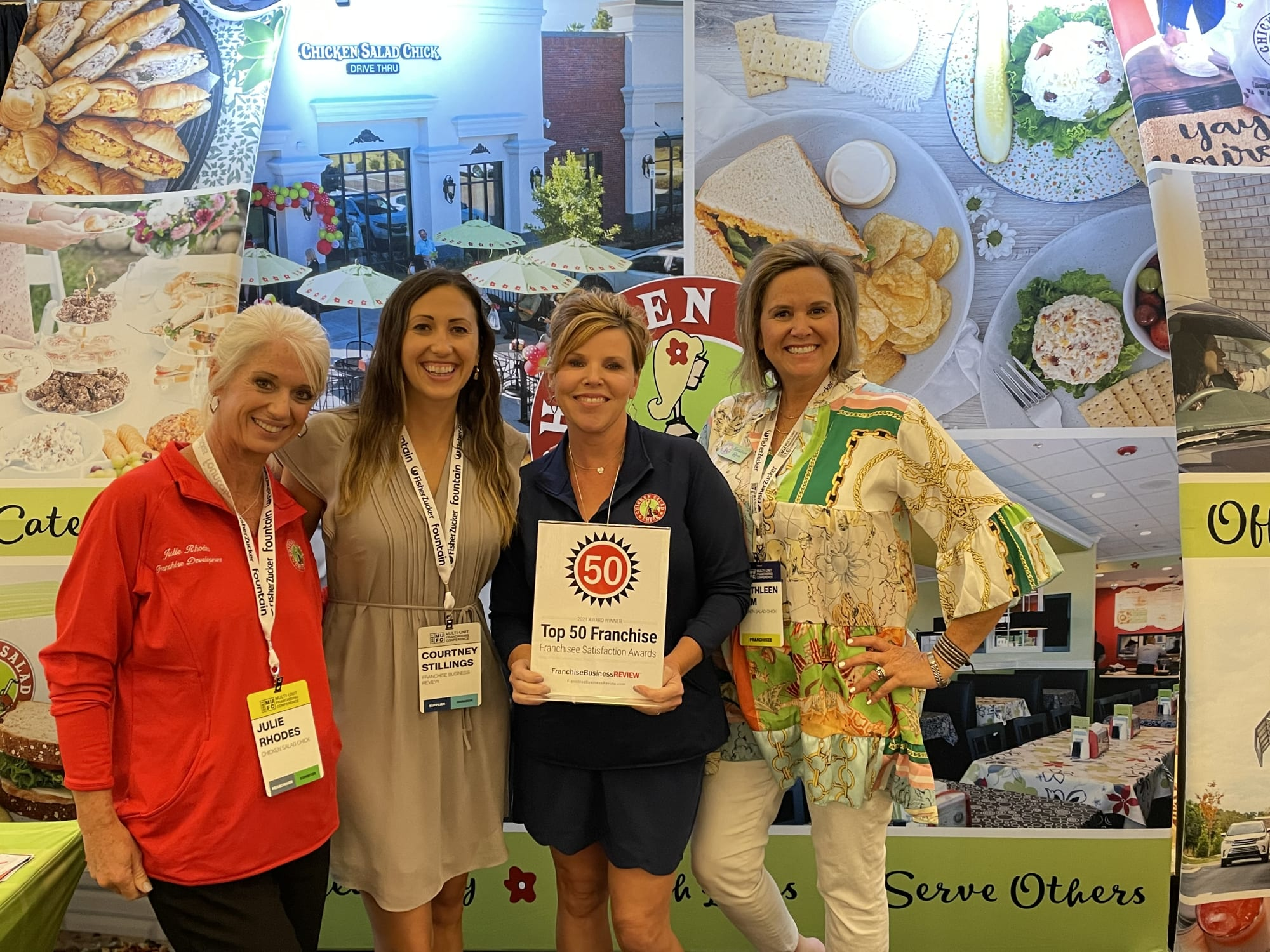 Franchisee Satisfaction Award Winners Chicken Salad Chick