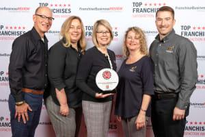 Wild Bird Unlimited franchisee satisfaction award winners
