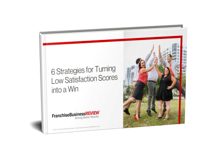 eBook: Turning Low Franchisee Satisfaction Scores into a Win