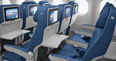 Image gallery transat airlines for Avion air transat interieur