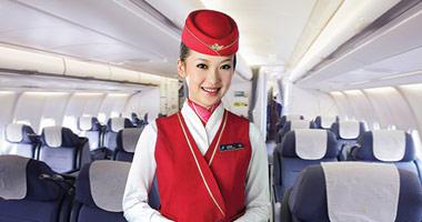 image Hong kong air hostess waiting bus