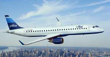 Jetblue airways in the sky