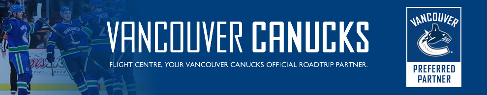 We are all Canucks. Flight Centre - your Vancouver Canukcs official roadtrip partner.