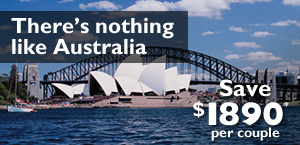 Australia, New Zealand Vacations Trafalgar Tour deals and Topdeck Tour deals