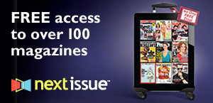 Free access to over 100 magazines with Next Issue