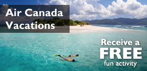 Air Canada Vacations Sun packages