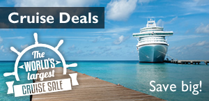 The worlds largest cruise sale