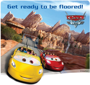 Disneyland - Cars Land Image