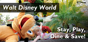 Walt Disney World Deals, Stay, Play, Dine and Save!