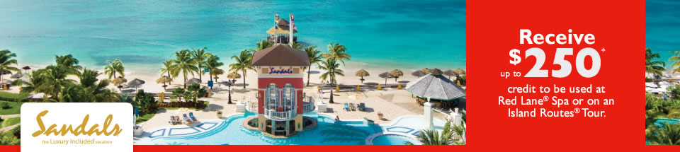 Sandals Luxury 2014 Limited Time Offer!