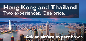 Hong Kong and Thailand Deals