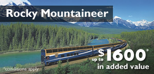 Experience Rocky Mountaineer Canada Rail Tours