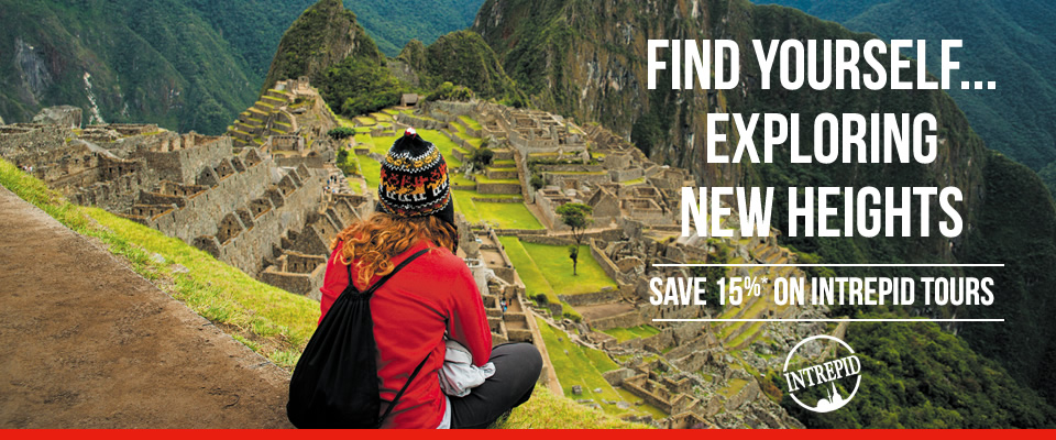 15% off intrepid tours