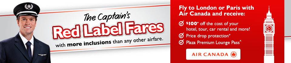 Flight Centre red label fares