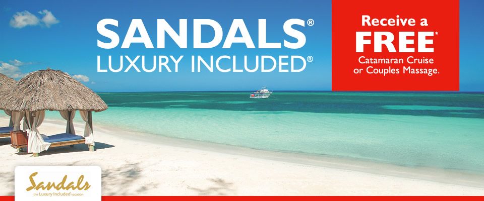 sandals sale with Flight Centre