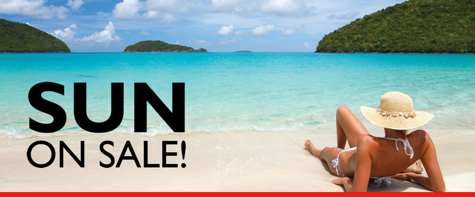 travel deals from Flight Centre banner