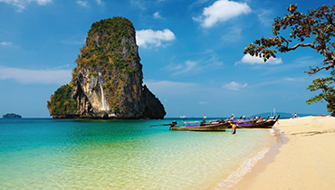 Relaxing on the beach in Thailand | THAILAND