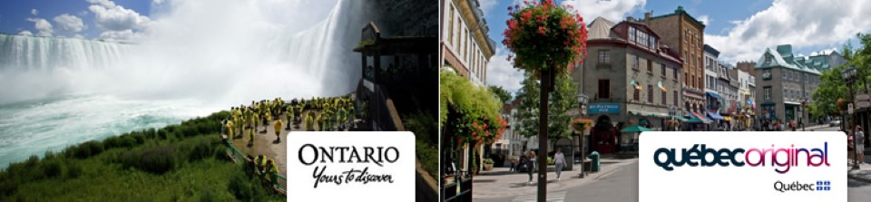 Canadian Travel Deals - Stay in Ontario and Quebec