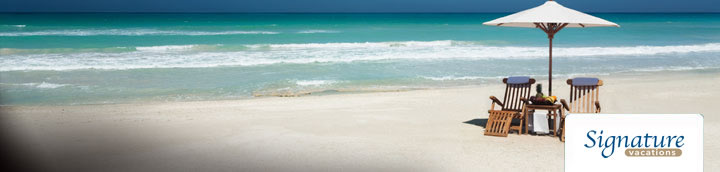 Signature Vacations From Toronto Signature Vacation Packages From Toronto Flight Centre