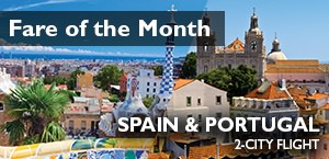 Widest Choice of Airfares - Spain & Portugal