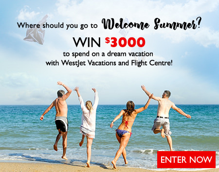 Where should you go to welcome summer? Enter to win!