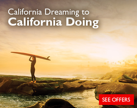 Turn your California Dreaming into California Doing - Save 20% on California Urban Adventures!