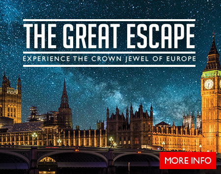 The Great Escape - Book your trip to London and the UK today!